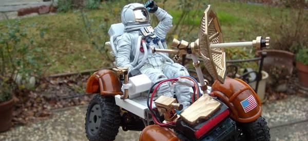 Vidéo : Un mini module lunaire radio commandé bien réaliste.
