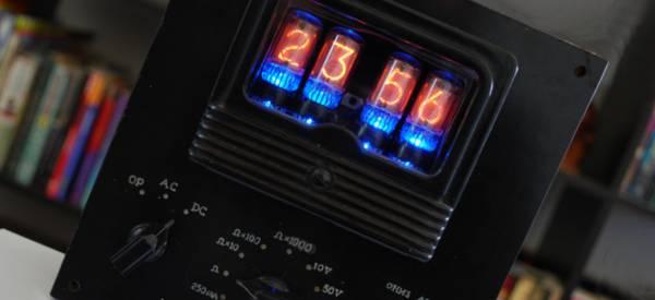 DIY : Transformer un vieux Multimètre en horloge SteamPunk.