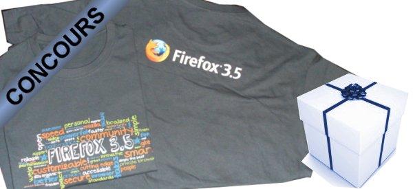 Gagnez des Tee-shirts Firefox avec Semageek