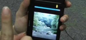 Mobile : Un capteur de mouvement qui suit vos doigts.