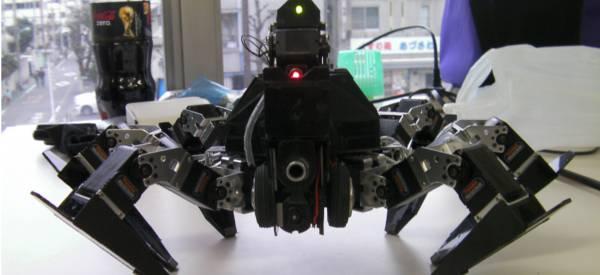 Banga : Un robot Hexapod qui se déplace comme un crabe.