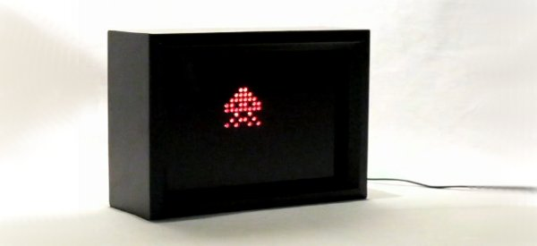 Geek : Un cadre photo numérique 8 bits à LEDs