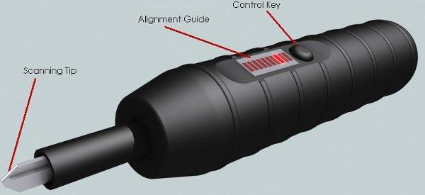 Un scanner USB de serrure pour reproduire une clef.