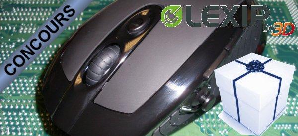 Gagnez une souris Lexip 3DM Advanced avec Semageek