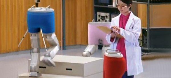 Détente : Les robots bipèdes qui testent les caleçons.