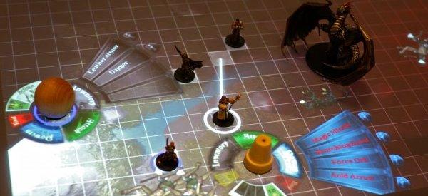 SurfaceScapes : Jouer à Dongeons et Dragons sur Microsoft Surface.