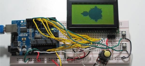 DIY : Visualiser et Zoomer des fractales avec un kit Arduino.