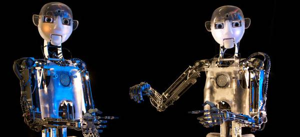 RoboThespian RT3 : Un robot humanoïde intéractif qui joue les acteurs.