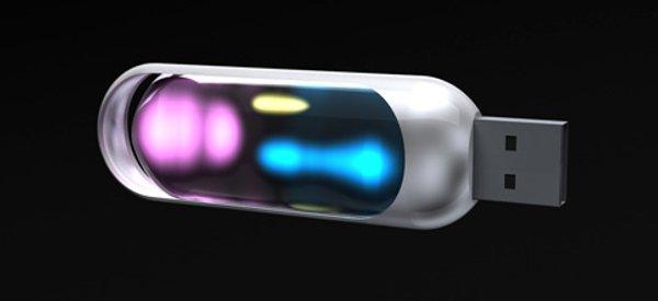 Soma-Toh : Une clé USB qui s'éclaire en fonction de ce qu'elle contient.
