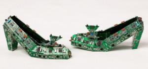 PCB Creation recycle vos cartes électroniques en sculpture oeuvre d'art.
