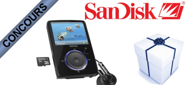 Gagner des Lecteurs multimédia SanDisk Sansa Fuze avec Semageek