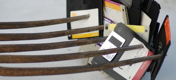 Découverte : La mutation de la disquette en CD