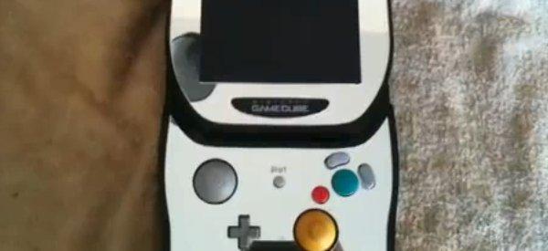 Vidéo : Une magnifique console Gamecube portable.