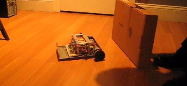 GBOT : Un robot qui sait garder ses distances.