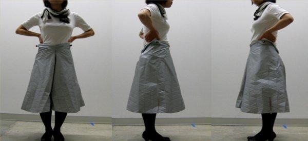 Cooperjay : Une jupe robotisée pour les geekettes