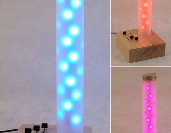 Un lampe d'appoint à LED RGB modulable selon vos envies