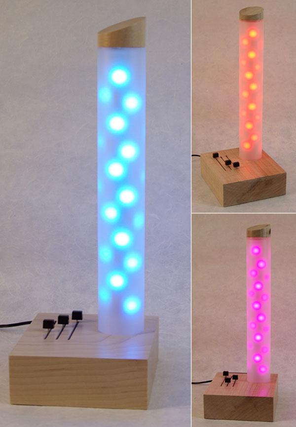 un lampe d 39 appoint led rgb modulable selon vos envies semageek. Black Bedroom Furniture Sets. Home Design Ideas