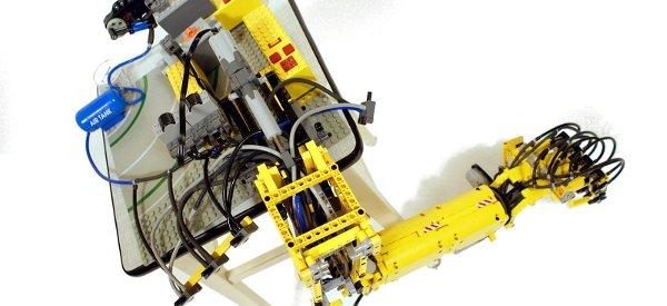 Vidéo : Un bras robotisée entièrement en Lego.