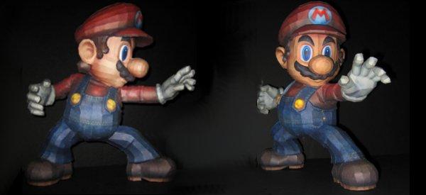 DIY : Fabriquer un magnifique Mario en PaperCraft
