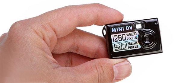 Gadget : Une mini caméra espion haute définition HD
