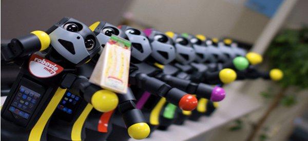 Robovie MR2, Le robot qui a un coeur d'Ipod Touch