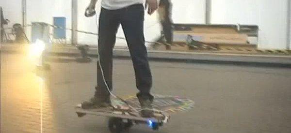 DIY : Fabriquer un skate motorisé à 2 roues centrale style SegWay.
