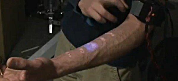 Skinput : Utiliser son bras comme une interface tactile