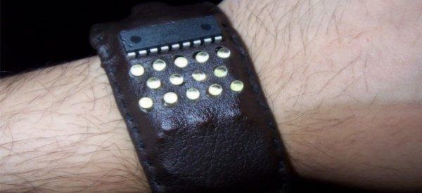 DIY : Fabriquer une montre à la fois Binaire et POV