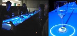 Vidéo : Ibar, le comptoir interactif tactile long de 10m.