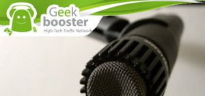 Geek Booster accorde un interview à Semageek.