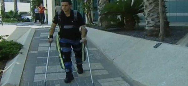 ReWalk : Un exoskelette pour faire marcher les personnes paraplégiques
