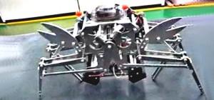 Vidéo : Un robot animal sur le modèle du crabe.