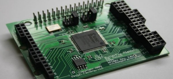 Un kit Arduino intégré dans un FPGA Xilinx.