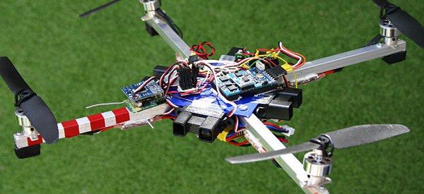 ArduIMU : Un drone DIY quadricoptère à base d'un kit Arduino