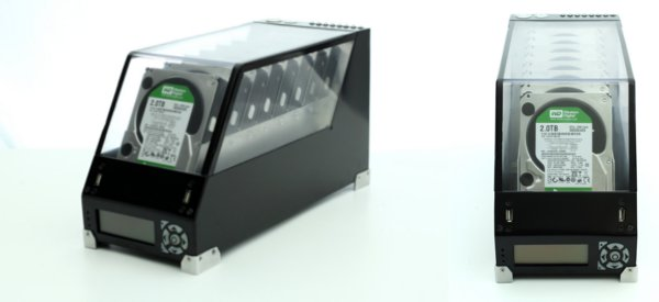 DIY Black Dwarf : Fabriquer un espace de stockage de plus de 16 TB
