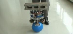 BallIP : Un robot équilibriste sur une boule