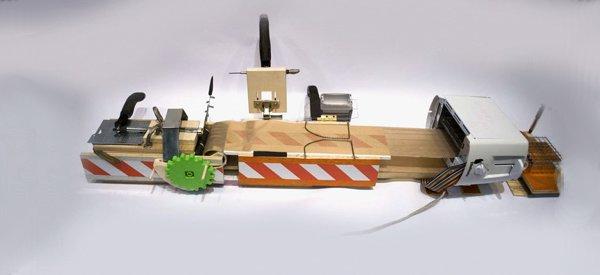 DIY : La machine personnelle qui fabrique les crayons à papier