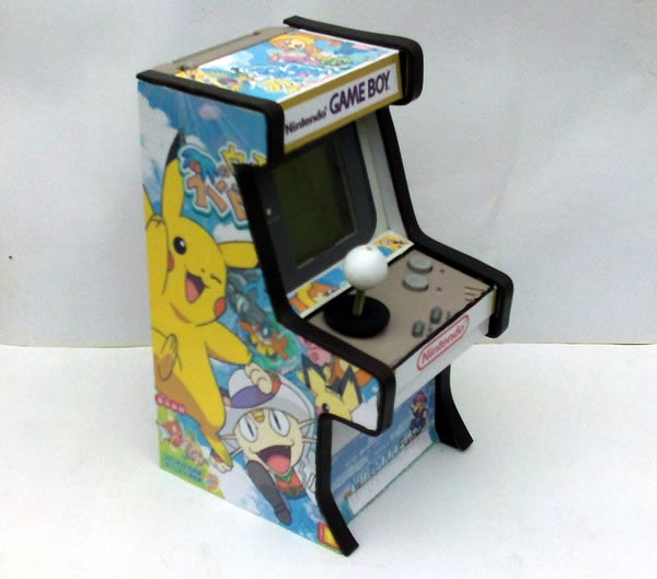Les plus belle mini borne d'arcade - Page 3 Gameboy-arcade-3