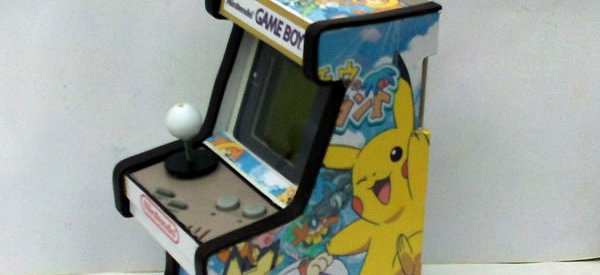 Case Mod : Transformer une vieille Gameboy en mini borne d'Arcade