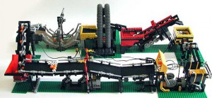 The Great Ball Contraption : Une machine de Rube Goldberg en Lego Mindstorms/Technics