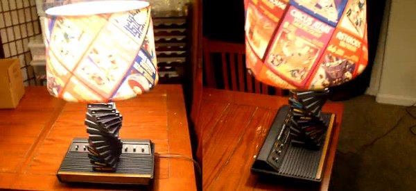 Déco : Une lampe de chevet Atari 2600 très geek