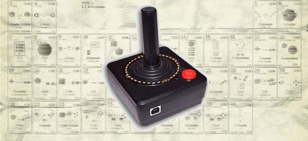 Détente : La table périodique des contrôleurs de jeux
