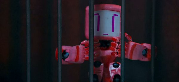 Vidéo : Ping ou Prison Break en version Robots