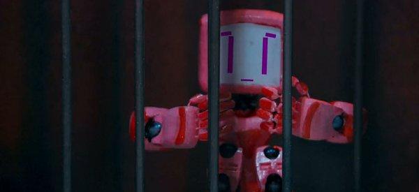 Vidéo : Ping ou Prison Break en version Robots