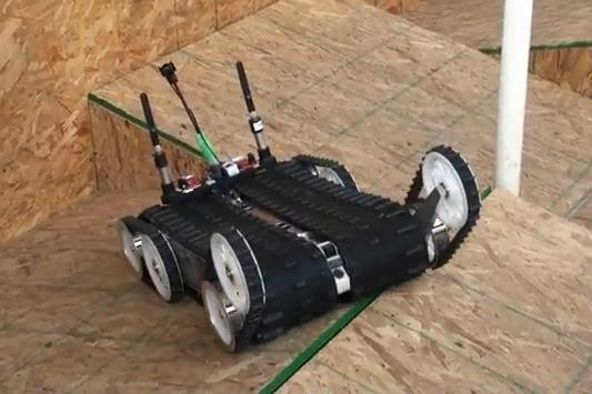 aucun obstacle n 39 arr te quince le robot secouriste semageek. Black Bedroom Furniture Sets. Home Design Ideas