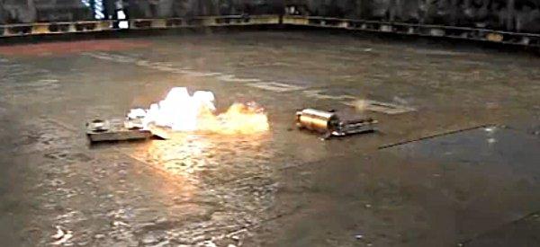 RoboGames 2010 : Une compil vidéo de combats de robots en slow-motion