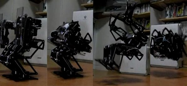 robot back flip 300fps video Vidéo : Le Robot qui maitrise avec perfection le Back Flip