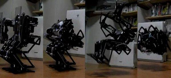 Vidéo : Le Robot qui maitrise avec perfection le Back Flip