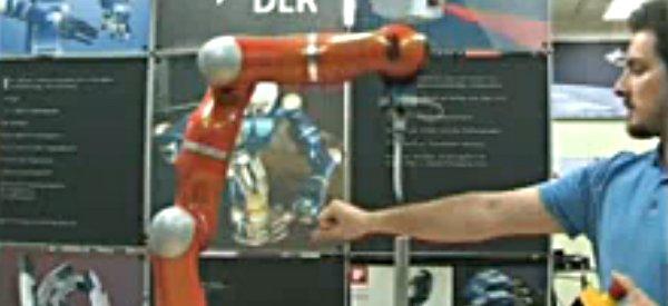 La détection de collision pour protéger l'homme des robots dangereux