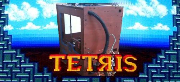 La musique de Tetris joué par un robot CNC d'usinage 3D